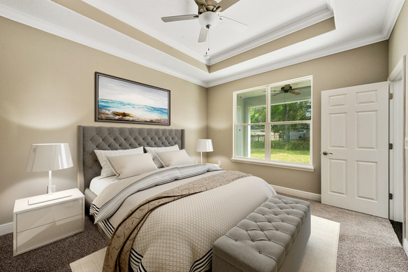 Master Bedroom - Chapman Floor Plan - Eleven Oaks