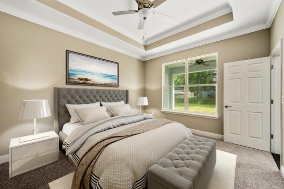 Master Bedroom - Chapman Floor Plan - Eleven Oaks