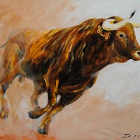 Toro Corriendo