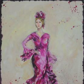 Flamenca en Rojo / VENDIDO