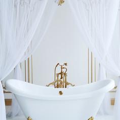 Lussuosa vasca da bagno