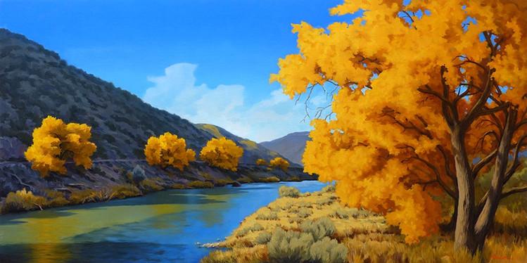 Fall Along the Rio Grande