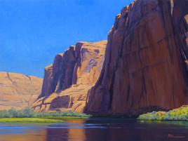 Morning Reflections, Glen Canyon