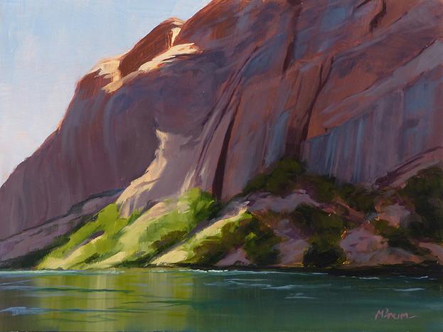 Study of Light in Glen Canyon