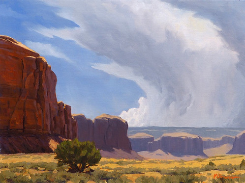 Summer Monsoon in Canyon Country