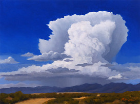 Storm over Mountains