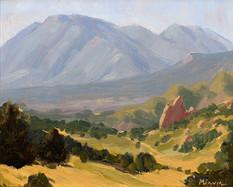 Toward Cheyenne Mountain
