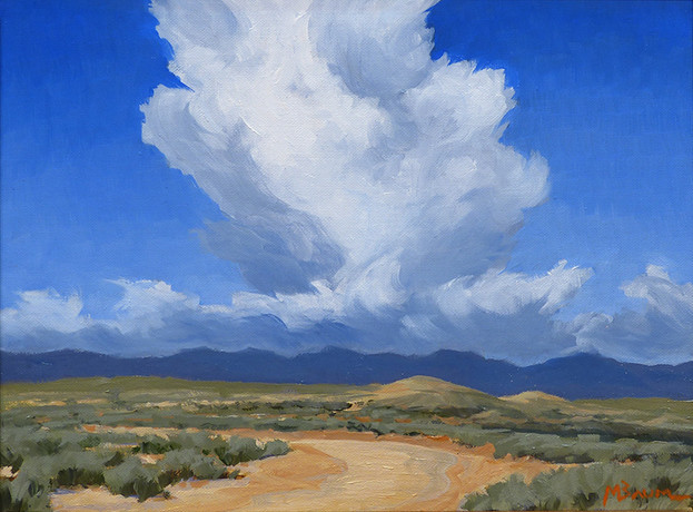 Storm over the Sangres
