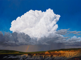 Storm Over the Paint Mines