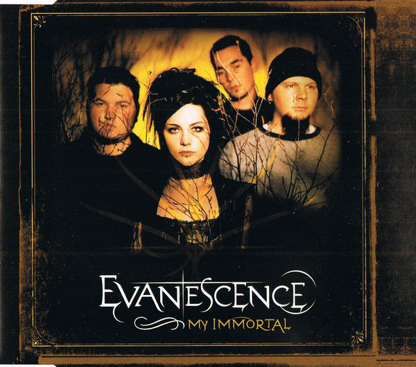 Evanescence My Immortal Maxi Singe