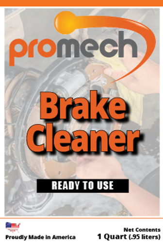 Promech All Natural Brake Cleaner - 1 Quart Spray Bottle