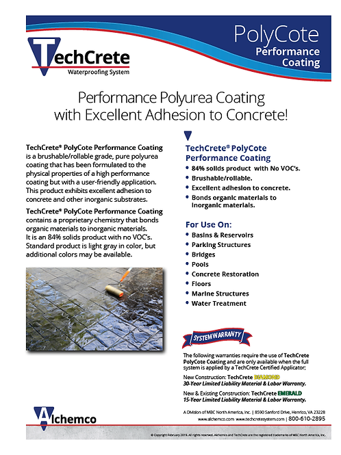 PolyCote Coating Sell Sheet (QTY: 25)
