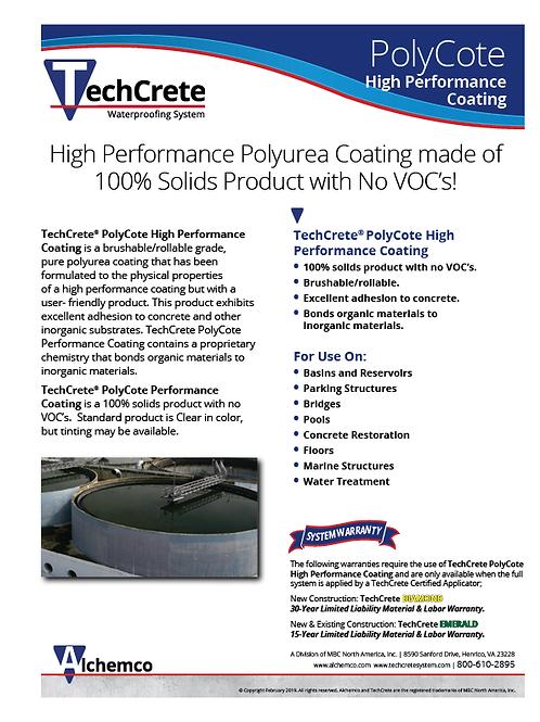 PolyCote HP Coating Sell Sheet (QTY: 25)