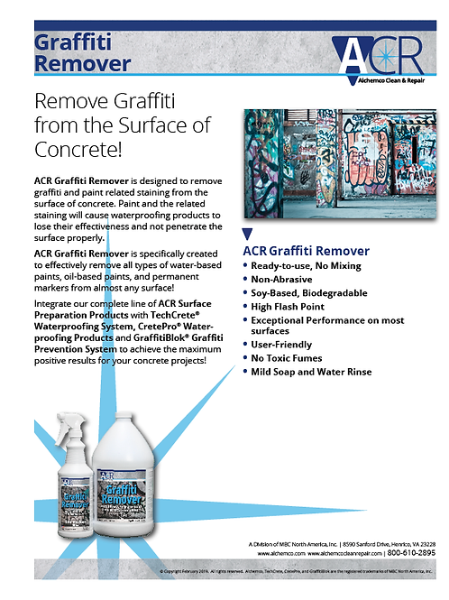 HP Concrete Repair Sell Sheet