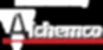 NEW_Alchemco Logo no Tag_Emboss_WHITE_Fa