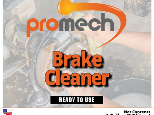 Promech All Natural Brake Cleaner - 1 Gallon