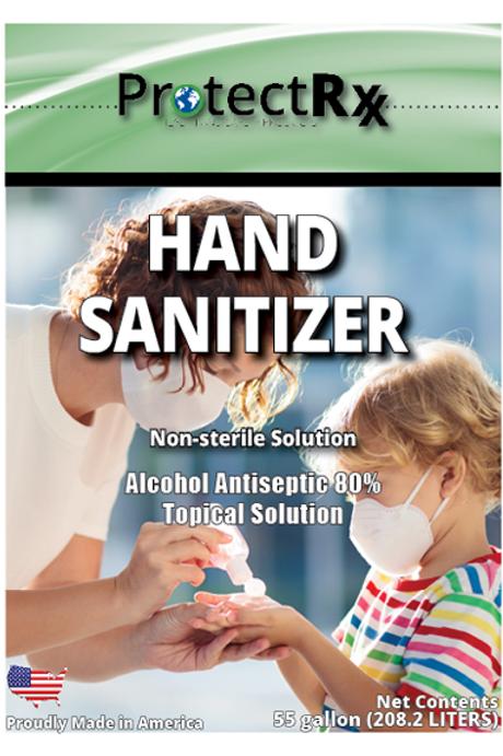 Hand Sanitizer - 55 Gallon