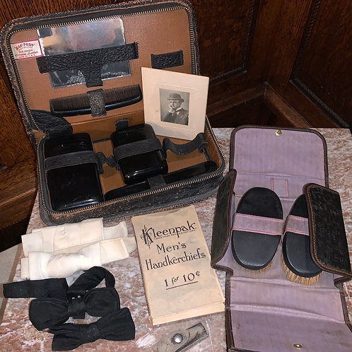 Men's necessaries, antique, many treasures here, fun!!
