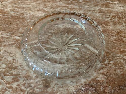 Precious antique cut glass ashtray