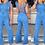 Thumbnail: Denim Cut Out Jumpsuit