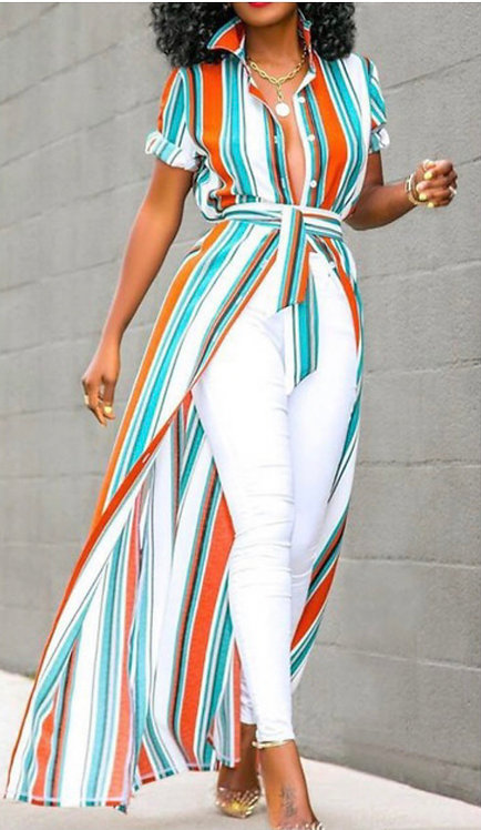Stripped Up Maxi