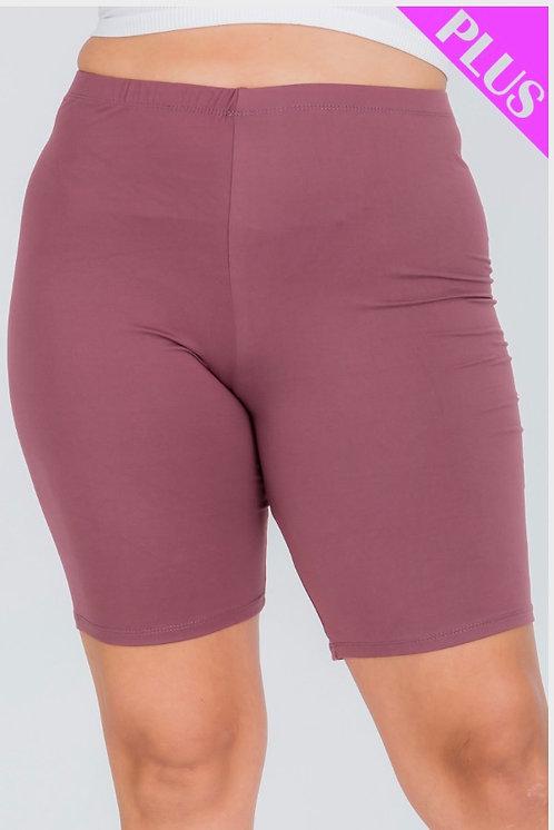 Mauve Biker Shorts