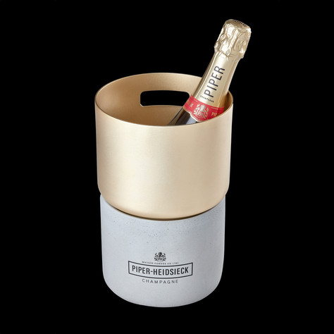 Piper-Heidsieck Concrete Ice Bucket
