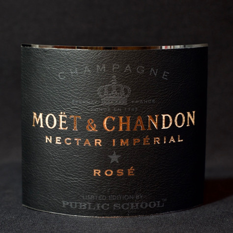 Moët Leather Label