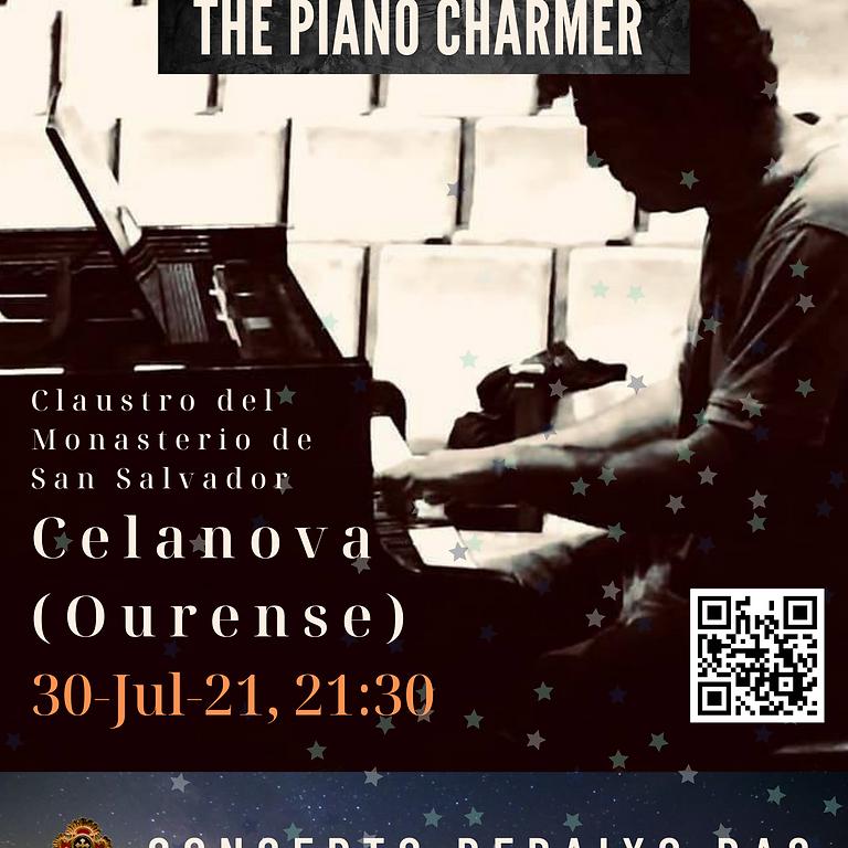 The Piano Charmer en Celanova. CONCERTO DEBAIXO DAS ESTRELAS DE CELANOVA