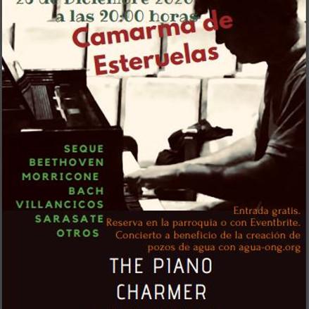 The Piano Charmer en Camarma de Esteruelas (Madrid) ENTRADAS AGOTADAS