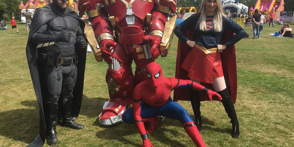 Superhero's Inflatable Fun Weekend