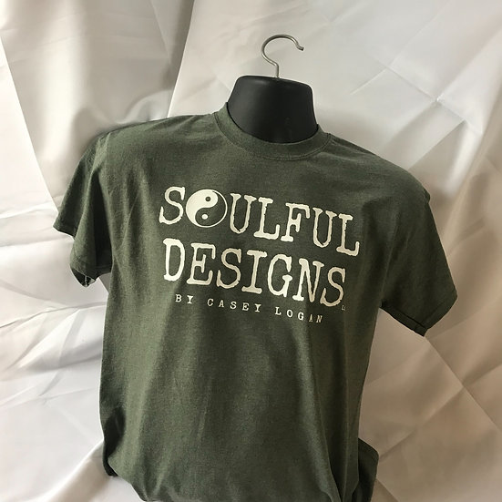 Army green Soulful Designs shirt