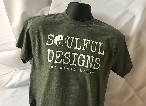 Army green Soulful Designs shirt