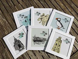 guernsey prints by Sing Chung