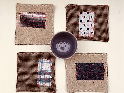 Linen Coaster [set of 4]