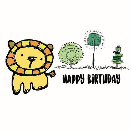 Happy Birthday - HB18-08