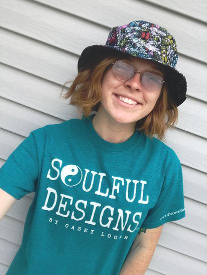 Blue Soulful Designs tshirt