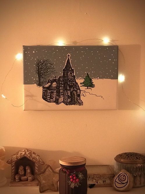 Little Chapel Canvas