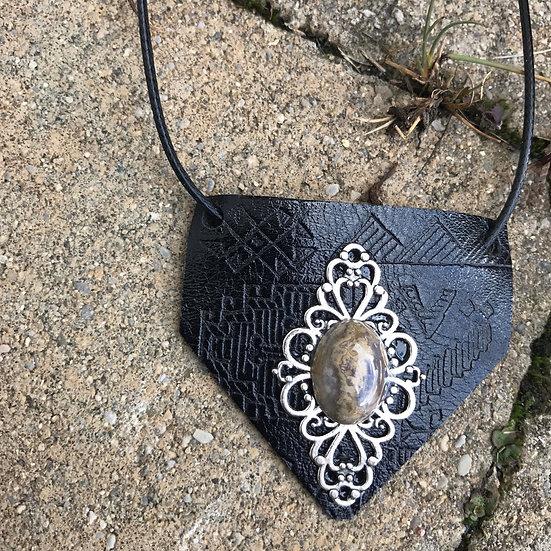 Aztec healing necklace