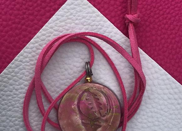 Grateful Dead - pink/gold