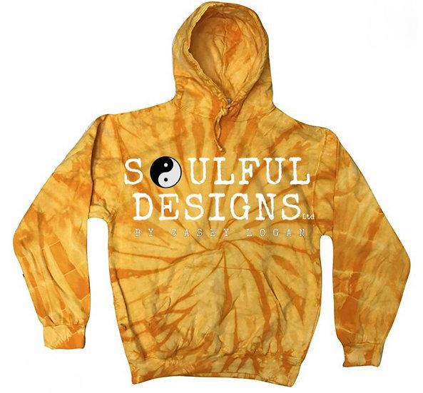 Pre-Order Burnt Orange tie dye