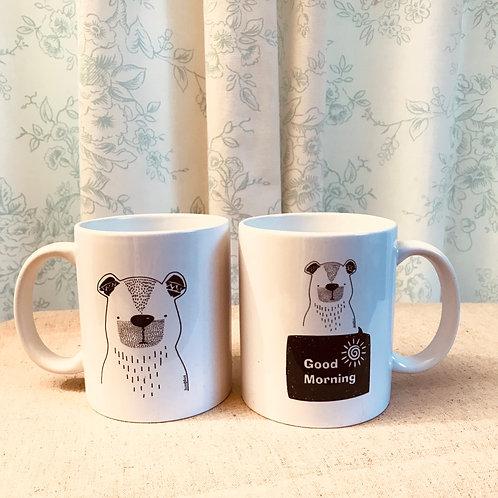 Good Morning Bear Mug