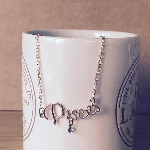 copy of 12 Horoscope Necklace - Pisces