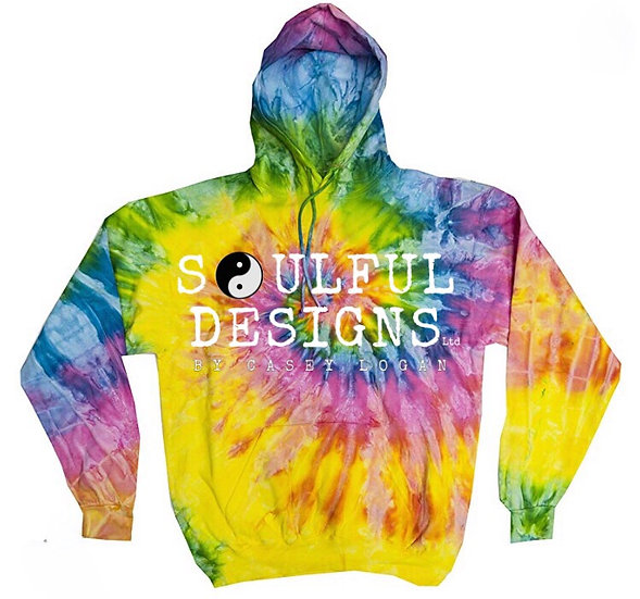 Pre-Order bright Rainbow tie dye