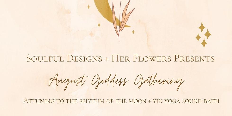 Attuning to the Moon, Yin Yoga & Sound bath - August Goddess Gathering