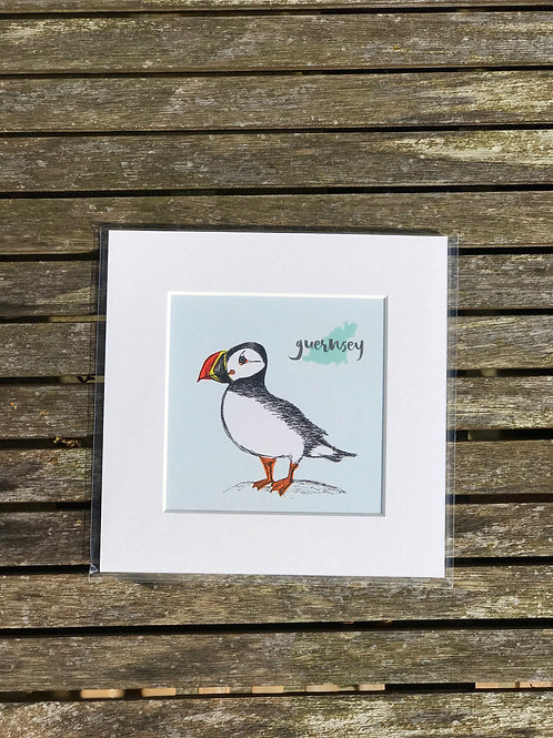 "Puffin 6""x6"" Prints"