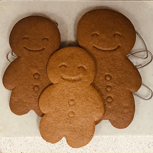 Homemade Giant Gingerbread Man