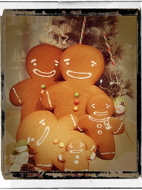 Giant Homemade Gingerbread Man