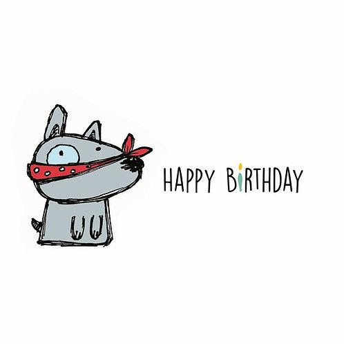 Happy Birthday - HB18-07