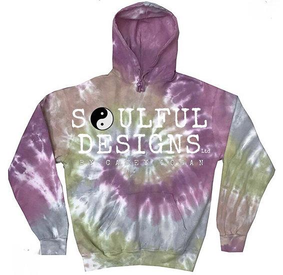 Pre-Order Burnt purple tie dye